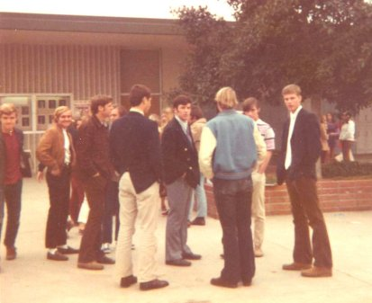 the quad in 1972 at cdmhs
