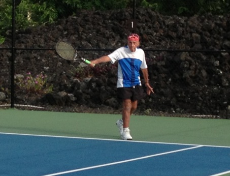 Still playing good tennis at 85 and beyond.